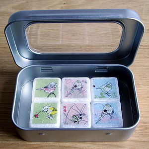 Littlebirdy Marble Fridge Magnets - wedding favours
