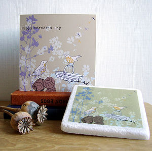 Mother's Day Songthrush Gift Set - seasonal cards