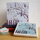 Handmade Bird Design Birthday Gift Set