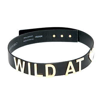 'Wild At Heart' Leather Belt