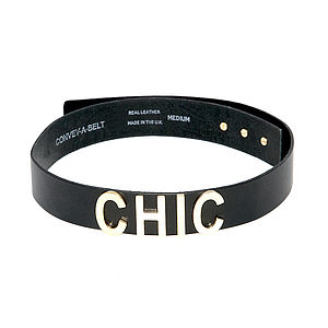 'Chic' Leather Belt