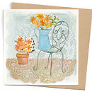 Country Days Card With Seeds
