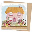 Cottage Card With Seeds