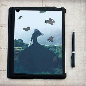 Like Ghosts From An Enchanter IPad Case - laptop bags & cases