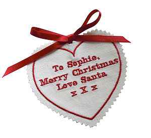 Personalised Gift Tag From Santa - gift tags & labels