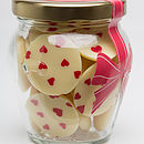 Mini Hearts Chocolate Buttons