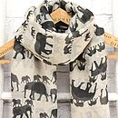 Elephants Scarf