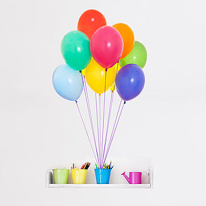 Colourful Balloons Vinyl Wall Sticker - decorative accessories