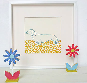 Quirky Dog Print