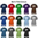 Men's T-Shirt Colours