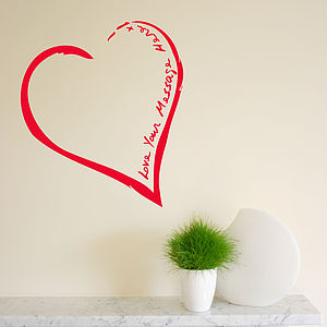 Your Heart On The Wall Sticker - wall stickers