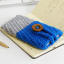 Handmade Duotone Wool Case For IPhone