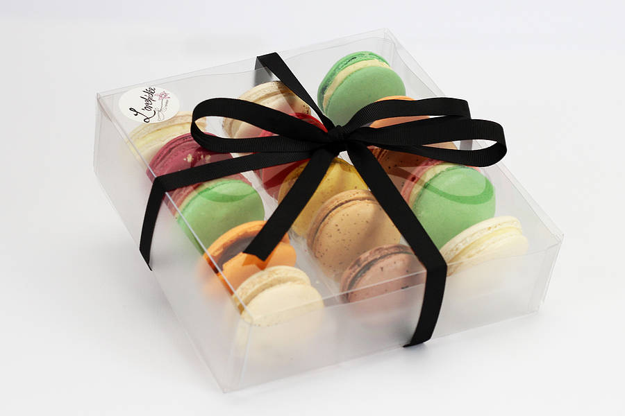 box of 20 french macarons by l'orchidée boutique patisserie ...