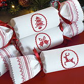 Scandi Reusable Christmas Cracker - christmas decorations