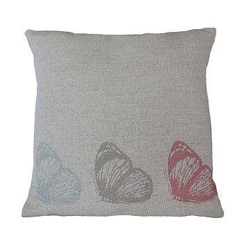 Three Butterflies Cushion