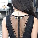 Olivia Black Semi Sheet Maxi Dress
