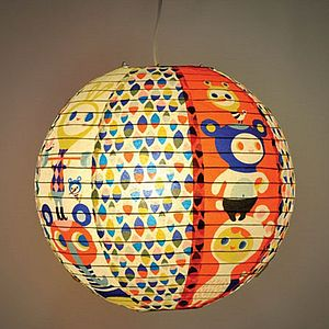 Heavy Lifting Paper Lantern - lighting