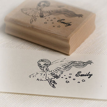 Personalised Fairy Stamp