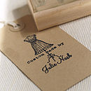 Personalised 'Custom Made By..' Stamp