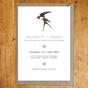 Swift Wedding Stationery - invitations