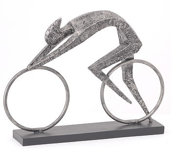 Abstract Cycling Sculpture