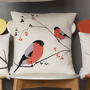 Bullfinch Cushion - cushions