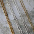 Chain Thickness (standard and thicker)