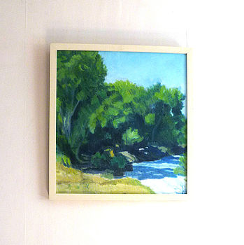 'Trees' Oil Painting