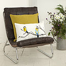 Juneberry And Bird Cushion