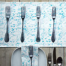 Forks Printed Table Runner