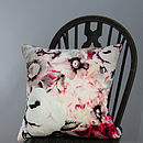 Flora Cushion Summer Pinks