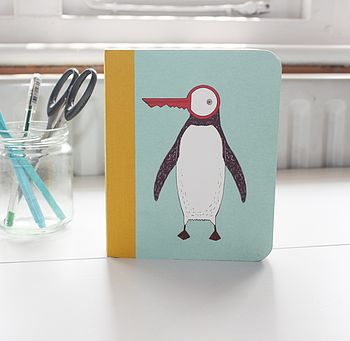 Penguin And Bird Journal
