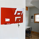 Magnetic Memo Board Letter Rack And Key Hook