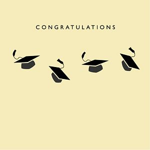 Congratulations Graduation Card - graduation cards