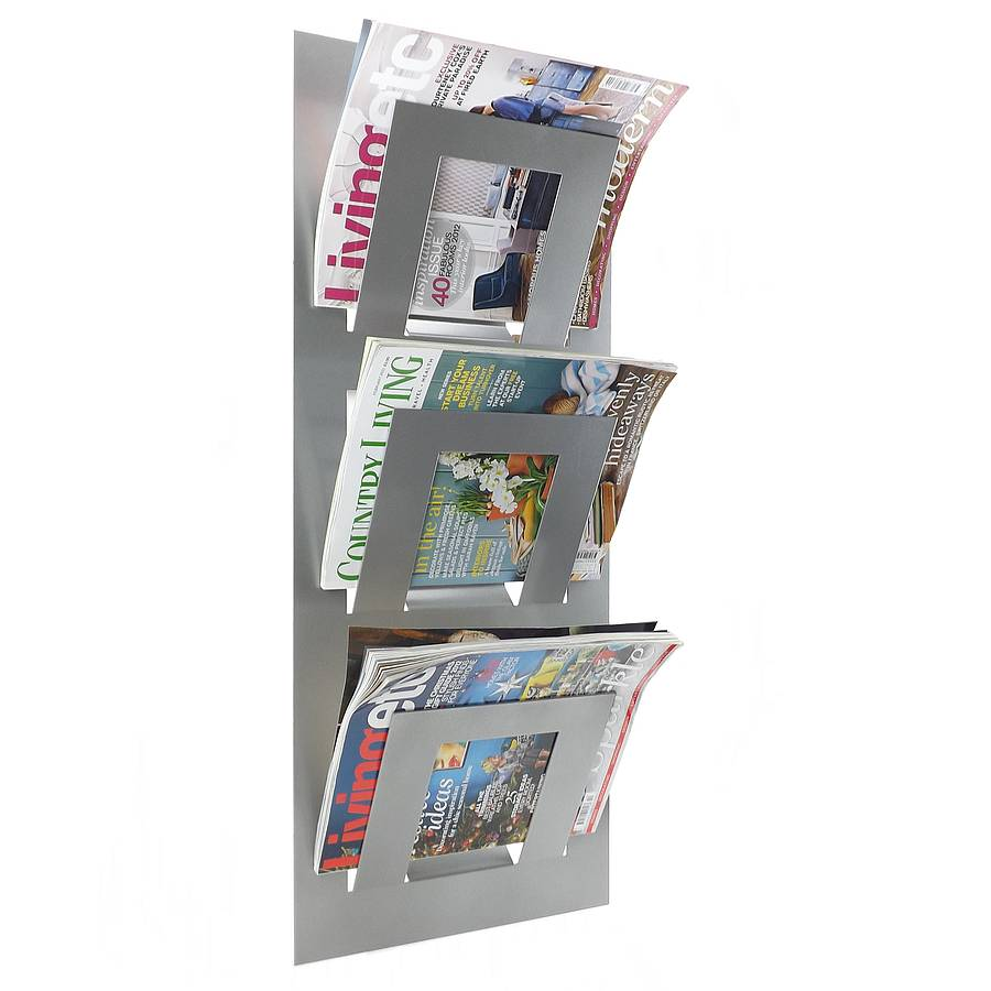 Wall Hanging Magazine Rack original_three-tier-magazine-rack