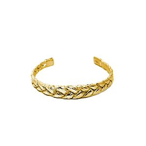 Plaited Cuff - children's jewellery