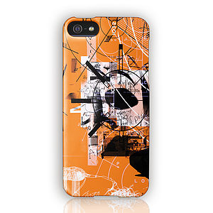 Graphic Design 'Spitfire' Phone Case By Marcus Diamond