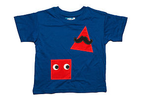 Boy's Geometric Shapes T Shirt