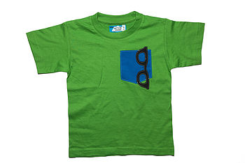 Boy's Specs Pocket T Shirt