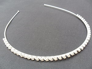 Simply Elegant Diamante Head Band *Offer - hair accessories