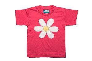 Girl's Flower Power Festival T Shirt