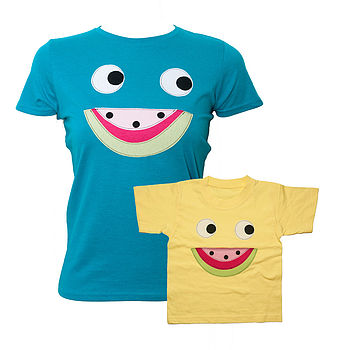 Mother & Daughter Melon T Shirt Set