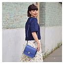 Colour Pop Mini Bag - Electric Blue