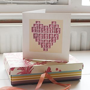 Heart Of Stamps Card - valentine's cards
