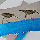 Curlew Linen Cushion