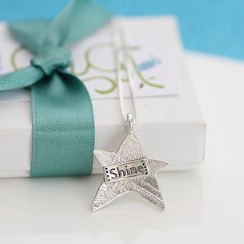 Silver Star Graduation Necklace