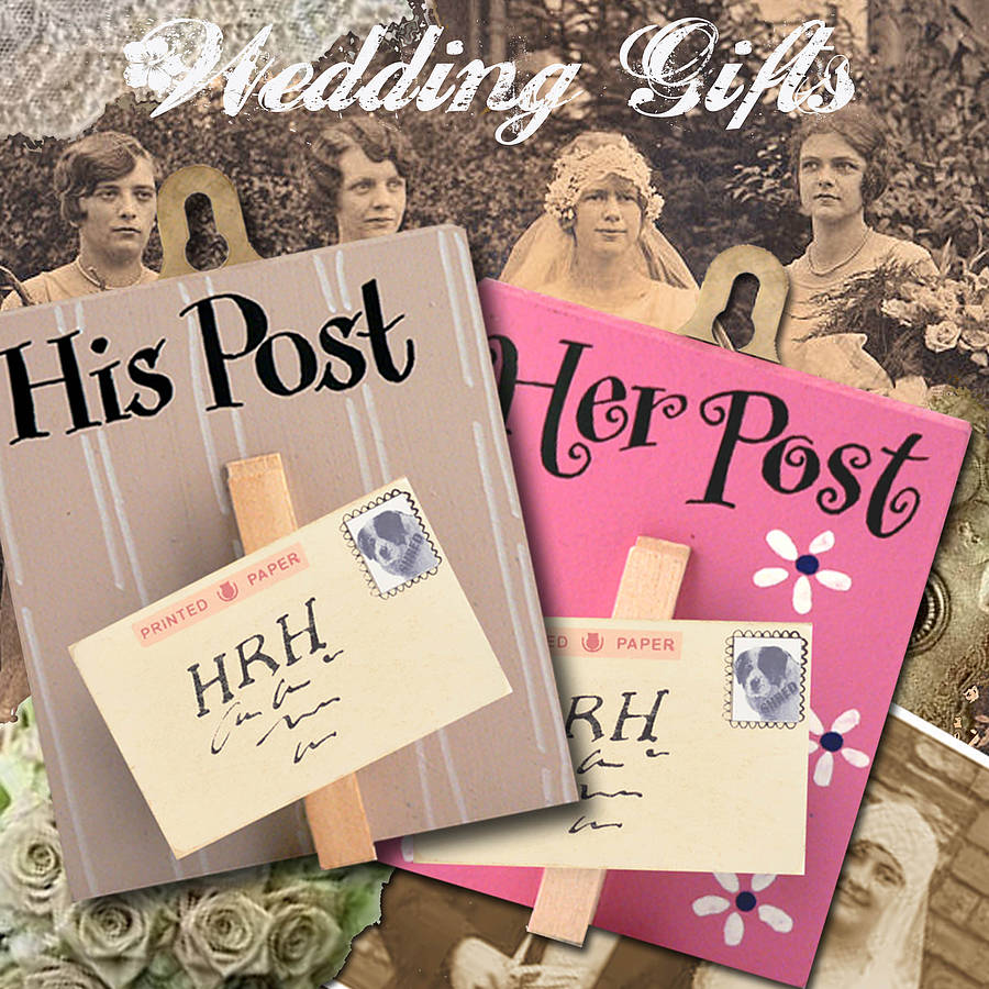 His Hers Wedding Gift Ideas : Were sorry, Wedding Gift His And Hers Pegs For Post is no longer ...