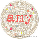 Amy Name Tag