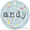 Andy Name Tag