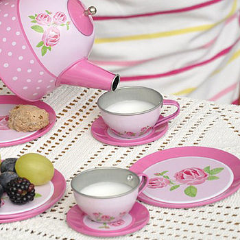 Play Time Tin Tea Set